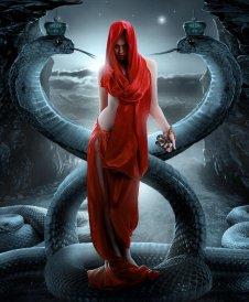 Girl with Snake_Sasha Fantom
