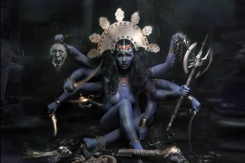 Goddess Kali_Glebstock
