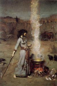 waterhouse_magic-circle